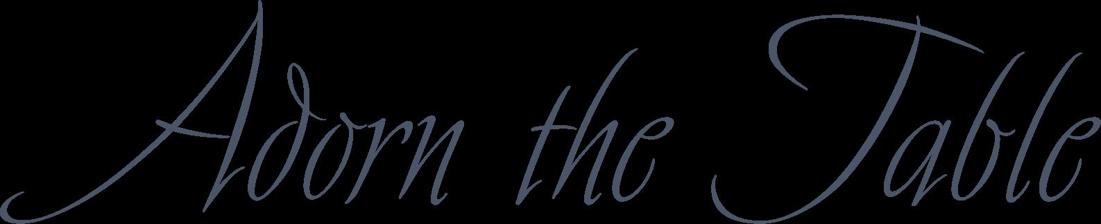 Adorn the Table - Logo